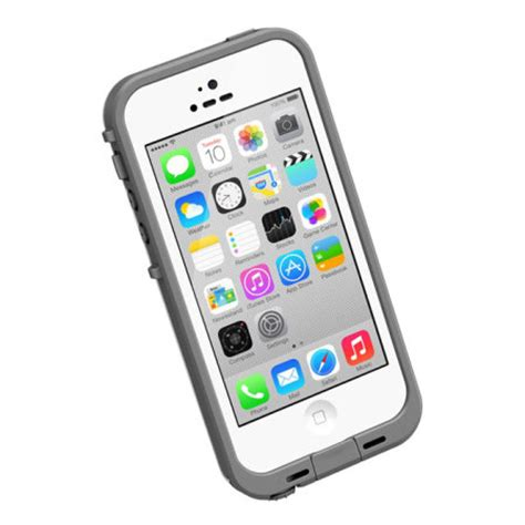 lifeproof cases for iphone 5c lifeproof fre iphone 5c case grey clear reviews Lifep