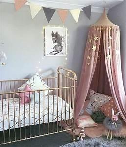 Bild Rosa Grau : 1001 ideen f r babyzimmer m dchen ~ Frokenaadalensverden.com Haus und Dekorationen