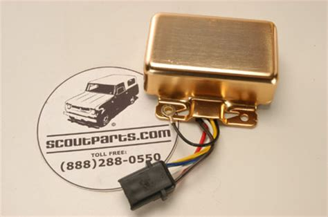 62 International Scout 80 Wiring Diagram by Gold Box Ignition Module International Scout Parts