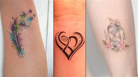 colorful small tattoo designs  girls colorful