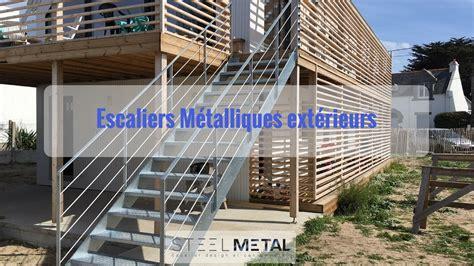 Escalier Exterieur Metal Escalier Ext 233 Rieur En M 233 Tal Steelm 233 Tal