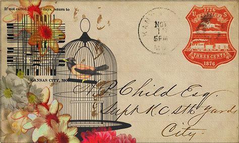 Vintage Postcard Template Photoshop Wallpaper Ilustraci 243 N Gratis Vintage Postal Collage Dise 241 O