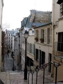 Cobblestone Street Paris France