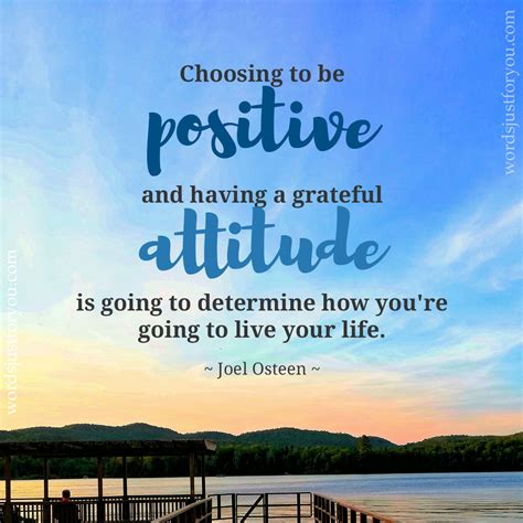 Choosing to be Positive - Quote by Joel Osteen - 5115   Words Just for You! - Best Animated Gifs ...