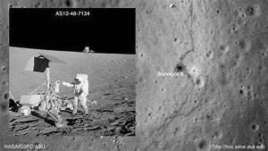 Apollo 12 Landing Site - Pics about space