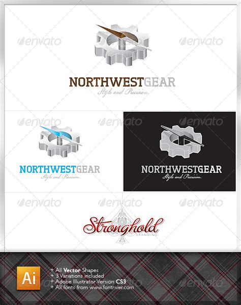 Transferring Preset Templates For Scribe America by Northwest Gear Logo Graphicriver