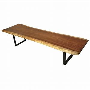 99 best images about rough lumber benches and tables on With rough edge wood coffee table