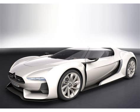 Citroen Gt Concept White Wallpapers