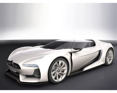 Citroen Gt Concept White Wallpapers 1280x1024 214571