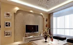 Latest wall design for living room download d house