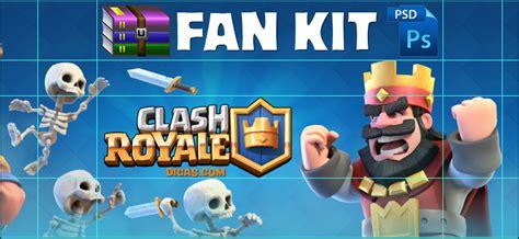 Download Fan Kit Clash Royale Imagens Renders