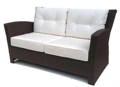 rattan loveseat cushions sanibel wicker loveseat cushions