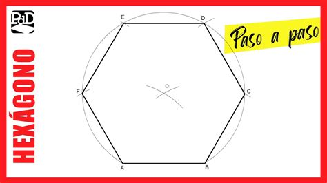 como dibujar  hexagono  partir del lado poligonos