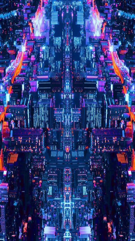Digital Screen Wallpaper by 2560x1440 City Glitch In 2019 Glitch Wallpaper