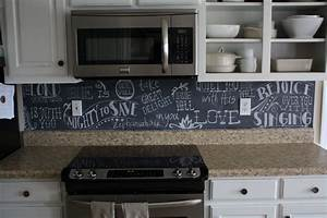 uncategorized chalkboard paint backsplash With best brand of paint for kitchen cabinets with ceramic plate wall art