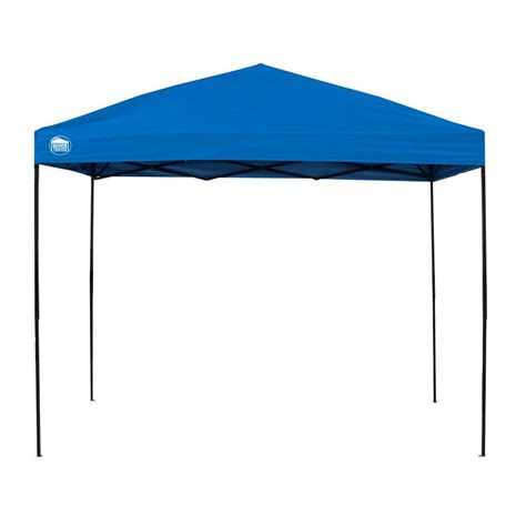 shade tech canopy shade tech st100 10 ft x 10 ft blue instant canopy