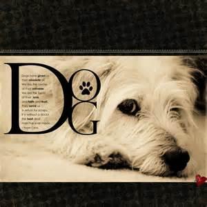 Dog Scrapbook Layout Ideas