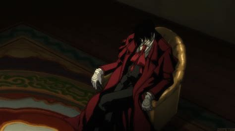 Alucard's Laugh #blood #red Gif