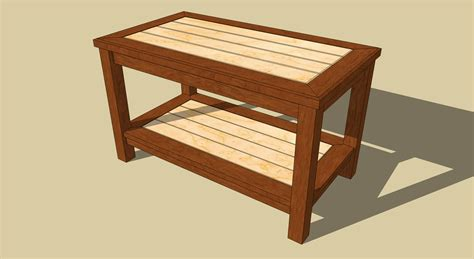 how to build a coffee table diy plans building a simple coffee table plans free