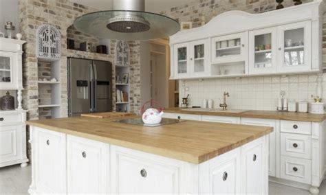 cuisine comptoir bois comptoir de cuisine en bois cet amnagement de cuisine
