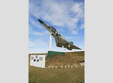 Argentine Naval Jet At The Monument To Fallen Soldiers Of