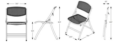 Mity Lite Mesh Folding Chairs by Mesh One Folding Chair Trident Furniture
