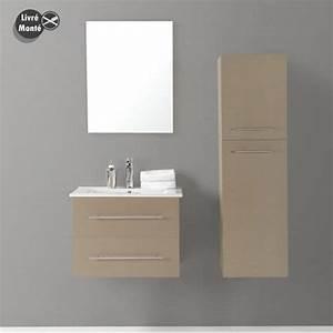 Meuble Salle De Bain Taupe : organisation meuble bas salle de bain taupe ~ Dailycaller-alerts.com Idées de Décoration