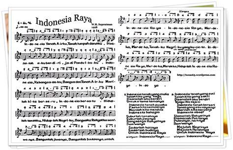 not indonesia pusaka pianika enbiziindahnyaberbagi not lagu indonesia raya