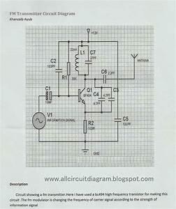 Fm Transmitter Circuit Diagram