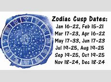 Were You Born On The Cusp Of A Zodiac Sign? THIS Is What