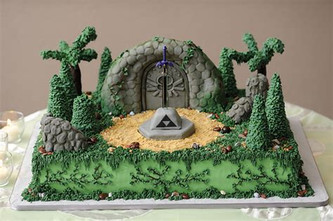 super awesome zelda cakes gaming