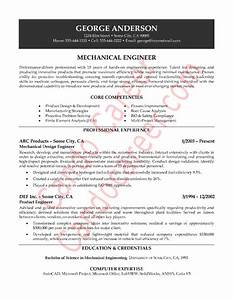 mechanical engineer sample resume by cando career coaching With resume samples for experienced mechanical engineers