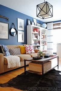 Interesting living room paint color ideas decozilla for Blue paint for living room