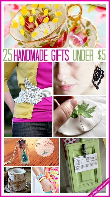 honemade christmas gifts under fifteen dollars 25 handmade gifts 5 dollars the 36th avenue