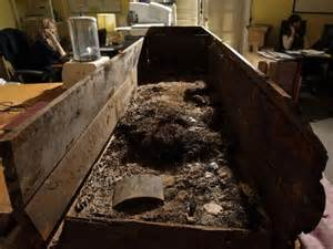 Exhumed Bodies From Caskets