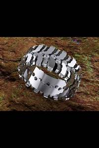 233 best images about tire goods fashion on pinterest With mud tire wedding ring sets