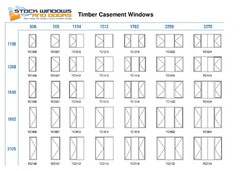window standard sizes systems tap timer instructions
