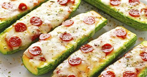 Zucchini Boats Pizza by The Iron You Zucchini Pizza Boats