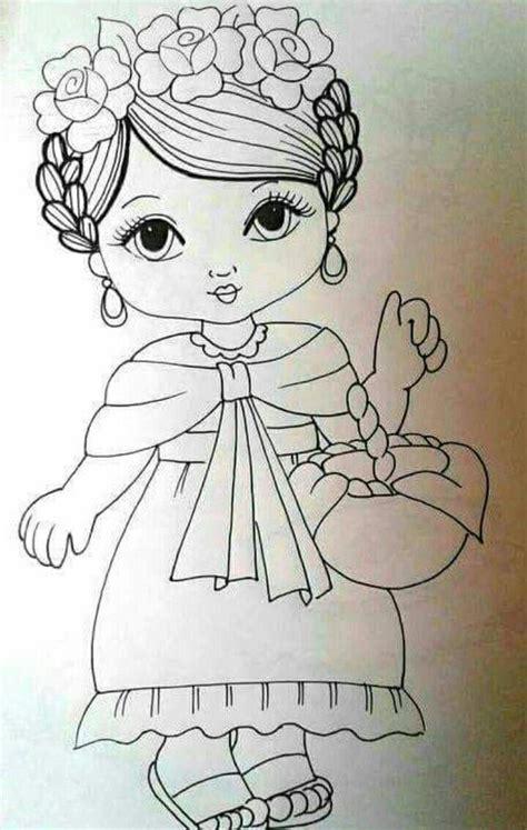 Pin de Marta Rivera en Colorear laminas Dibujos en tela