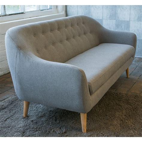 canapé de designer canapé design scandinave capitonné cirrus drawer