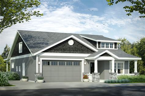 Bungalow House Plans  Nantucket 31027  Associated Designs