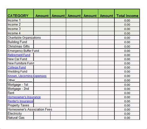 Sheets Budget Template Sheets Budget Template Shatterlion Info