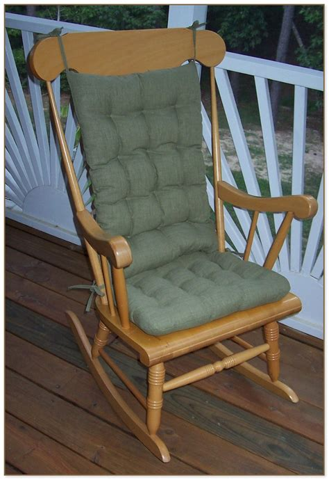 Indoor Rocking Chair Replacement Cushions indoor rocking chair cushions