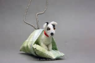 instructions   needle felted dog miniature