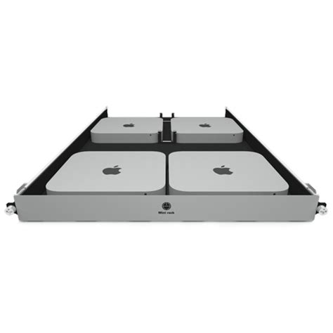 mac mini rack h squared 112 4901 mini rack for mac mini allows at