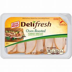 Oscar Mayer Deli Fresh Oven Roasted Turkey Breast   Walgreens