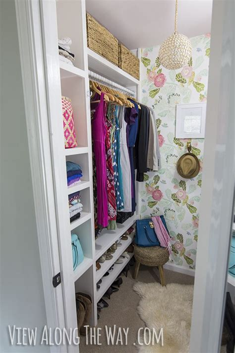how to build a walk in closet organizer woodworking