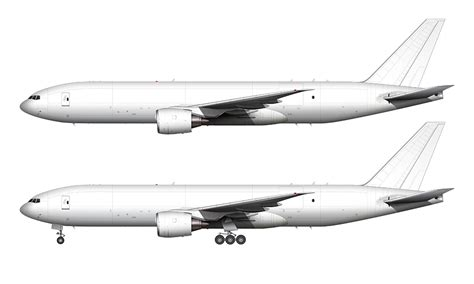 air livery templates illustrator boeing 777f blank illustration templates norebbo