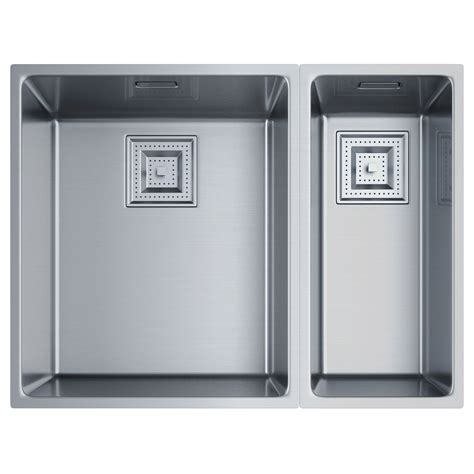 34 stainless steel kitchen sink franke centinox cmx 160 34 17 stainless steel 1 5b