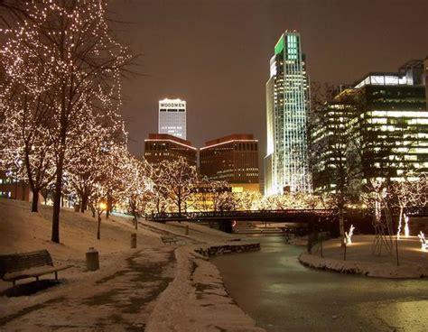omaha christmas lights by burlington photo weather